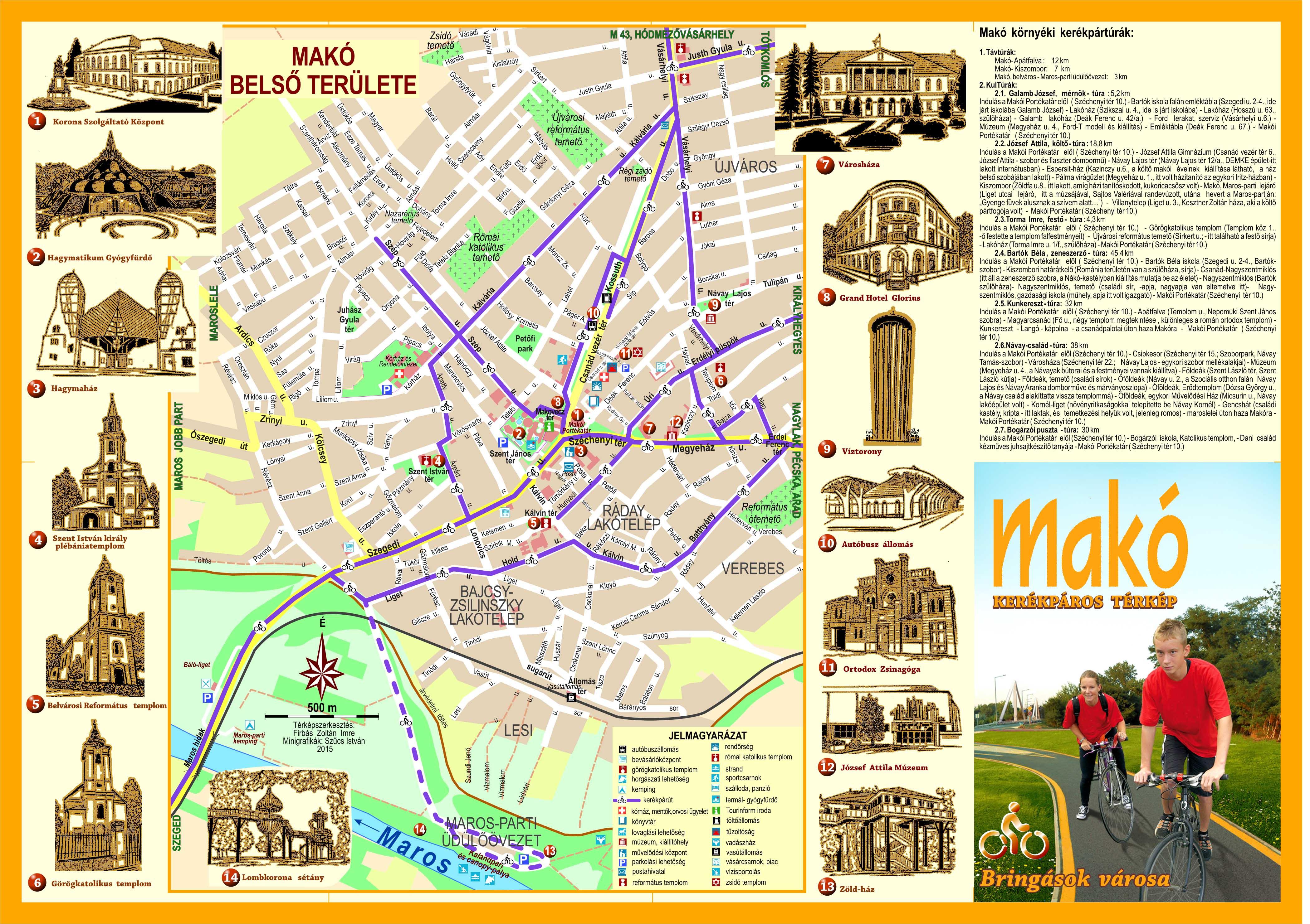 makó térkép Turisztika – Makó makó térkép