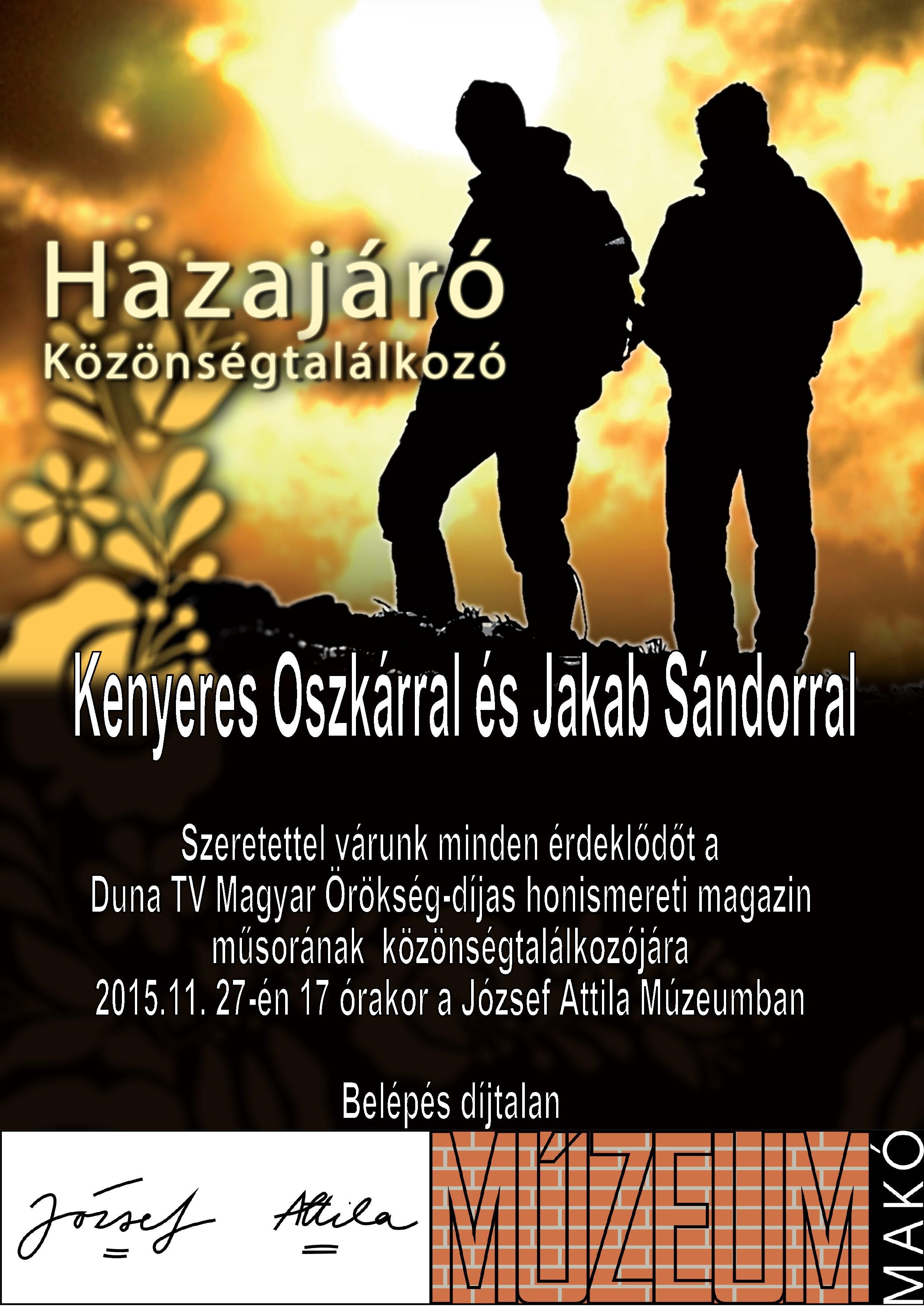 hazajaro_kozonsegtalalkozo_151127plakat